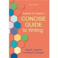 Axelrod and Cooper's Concise Guide to Writing