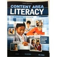 Content Area Literacy: An Integrated Approach 9780757588914R