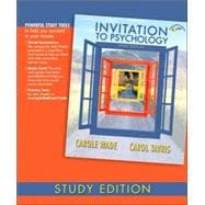 Invitation to Psychology, Study Edition