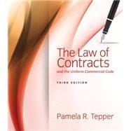 The Law of Contracts and the Uniform Commercial Code 9781285448947R
