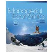 Managerial Economics, Eigth Edition