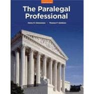 Paralegal Professional, The Plus NEW MyLegalStudiesLab and Virtual Law Office Experience with Pearson eText -- Access Card Package
