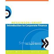 Introduction to Corporate Finance, Abridged Edition (with SMARTMoves Printed Access Card and Thomson ONE)