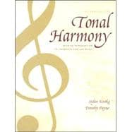 Tonal Harmony Wkbk with Wkbk Audio CD and Finale CD-ROM