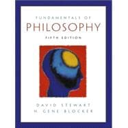 Fundamentals of Philosophy