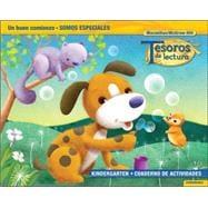 Tesoros de lectura, A Spanish Reading/Language Arts Program, Grade K, Practice Book, Student Edition