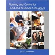 Planning and Control for Food and Beverage Operations with Answer Sheet (AHLEI)