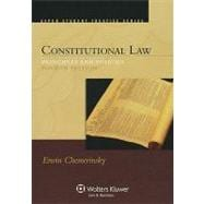 Constitutional Law : Principles and Policies 4e