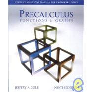Student Solutions Manual for Swokowski and Cole's Precalculus: Functions and Graphs