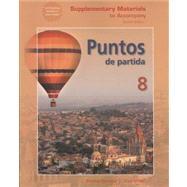 Supplementary Material t/a Puntos de Partida