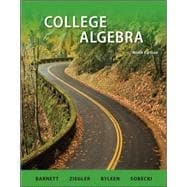 Combo: College Algebra with ALEKS User Guide & Access Code 18 Weeks