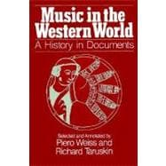 Music in the Western World : A History in Documents