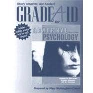 Abnormal Psychology, Grade Aid