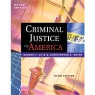 Criminal Justice in America With Infotrac