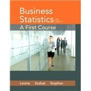 Business Statistics A First Course