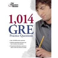 1,014 GRE Practice Questions