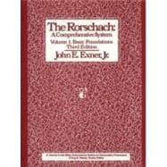 The Rorschach: A Comprehensive System : Basic Foundations