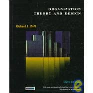 Organizational Theory and Design