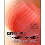 Conducting and Reading Research in Health and Human Performance with PowerWeb : Health and Human Performance