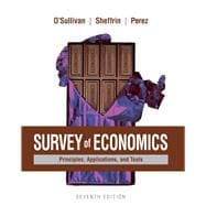 Survey of Economics Principles, Applications, and Tools