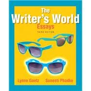 The Writer's World Essays