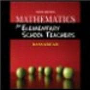 Student Solutions Manual for Bassarear's Mathematics for Elementary School Teachers, 5th