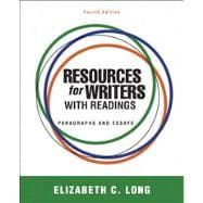 Resources for Writers with Readings Plus MyWritingLab with Pearson eText --Access Card Package