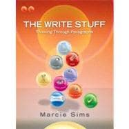 The Write Stuff Paragraphs (with MyWritingLab with Pearson eText Student Access Code Card)
