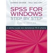 SPSS for Windows Step by Step : A Simple Guide and Reference, 15. 0 Update