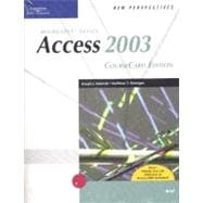 New Perspectives on Microsoft Office Access 2003, Brief, CourseCard Edition