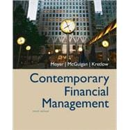Contemporary Financial Management with infotrac (Student Edition)