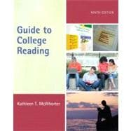 Guide to College Reading (with NEW MyReadingLab with Pearson eText Student Access Code Card)