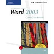 New Perspectives on Microsoft Office Word 2003, CourseCard Edition