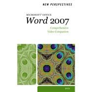 Video Companion DVD for Zimmerman/Zimmerman/Shaffer/Pinard's New Perspectives on Microsoft Office Word 2007