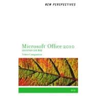 Video Companion DVD for Shaffer/Carey/Ageloff/Zimmerman/Zimmerman�s New Perspectives on Microsoft Office 2010, Second Course
