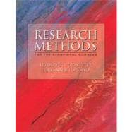 Research Methods for the Behavioral Sciences (with InfoTrac)