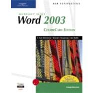 New Perspectives On Microsoft Office Word 2003