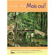 Student Activities Manual for Thompson's Mais Oui!