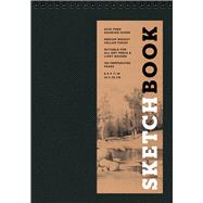 Sketchbook (Basic Medium Spiral Fliptop Landscape Black)