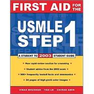 First aid For the Usmle Step 1 2003 (13th Ed)