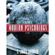 A History of Modern Psychology, 3rd Edition