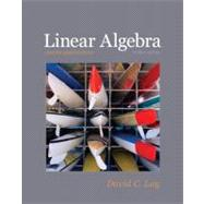 Linear Algebra plus MyMathLab Getting Started Kit for Linear Algebra and Its Applications