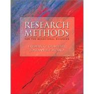 Research Methods for the Behavioral Science (With and Infotrac)