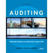 Auditing A Risk-Based Approach to Conducting a Quality Audit (with ACL CD-ROM)
