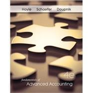Fundamentals of Advanced Accounting with Connect Plus 1 Semester Access Card