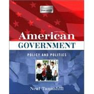 American Government Policy and Politics (Longman Study Edition)