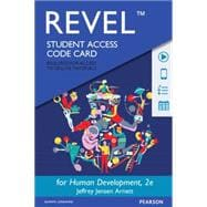 REVEL for Human Development A Cultural Approach -- Access Card