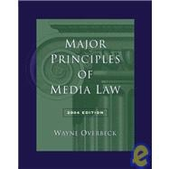Major Principles of Media Law, 2004