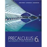 Study Guide for Stewart/Redlin/Watson's Precalculus: Mathematics for Calculus, 6th