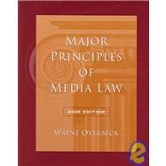 Major Principles of Media Law, 2005 Edition (with InfoTrac)